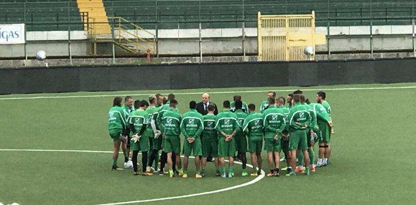 Avellino Calcio – Taccone a colloquio con la squadra alla ripresa