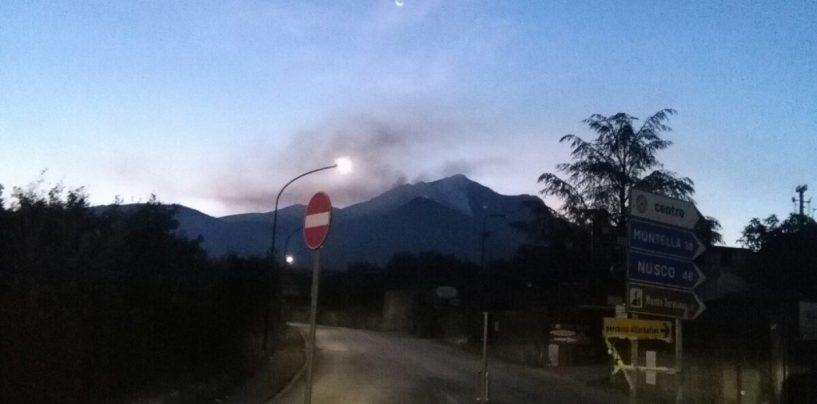 Caldo e incendi: in Irpinia è tornata l'estate