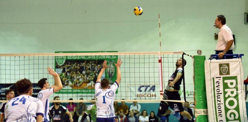Buona la prima dell'Atripalda Volley, 3 a 0 a Pomigliano