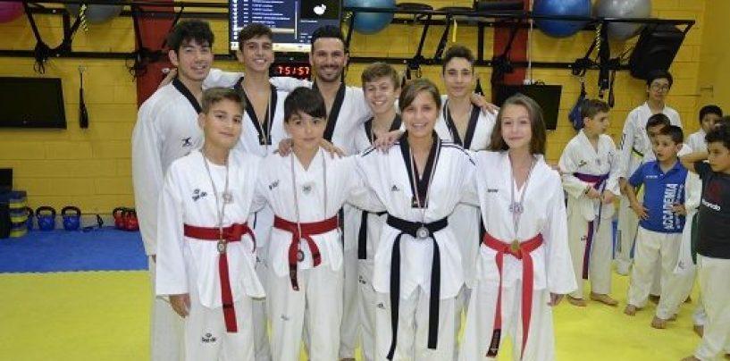 Taekwondo: l'Accademia di D'Alessandro si porta a casa 8 podi con 9 atleti