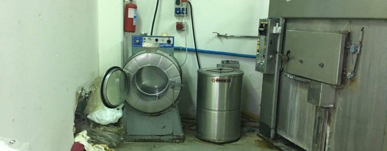 Lavanderia industriale abusiva sequestrata dai caschi bianchi di Avellino