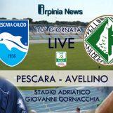 LIVE ADRIATICO-CORNACCHIA/ Pescara-Avellino in diretta