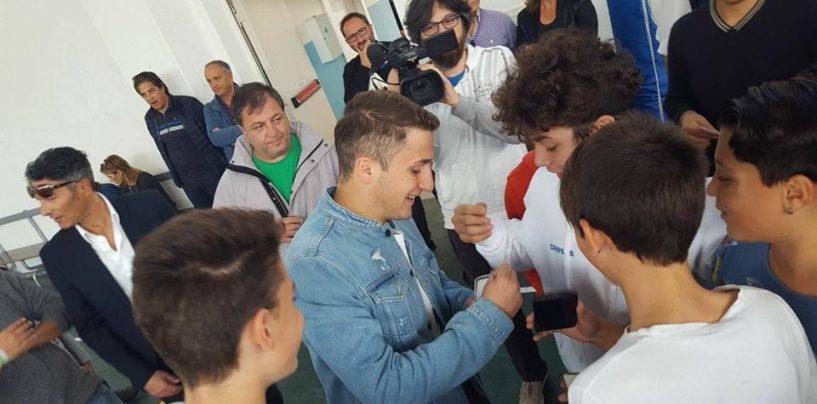 Avellino Calcio – Che entusiasmo per Morosini a San Martino Valle Caudina