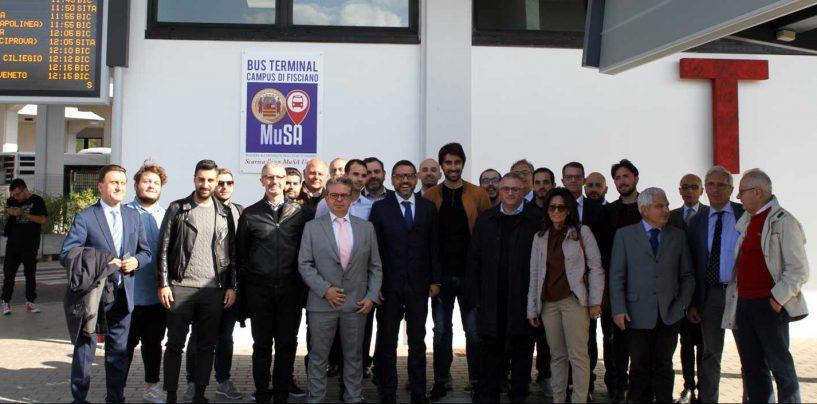 """Presentato a Fisciano il nuovo sistema di info mobilità universitaria """"MuSA – Muoversi @UNISA"""""""