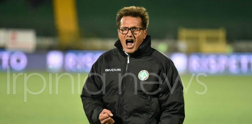 """Avellino-Pro Vercelli 1-0, Novellino: """"Vittoria del gruppo e credo ai playoff"""""""