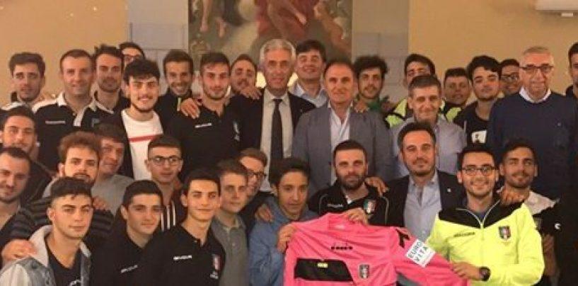 Alla presenza di Cosimo Sibilia parte la nuova stagione degli arbitri irpini
