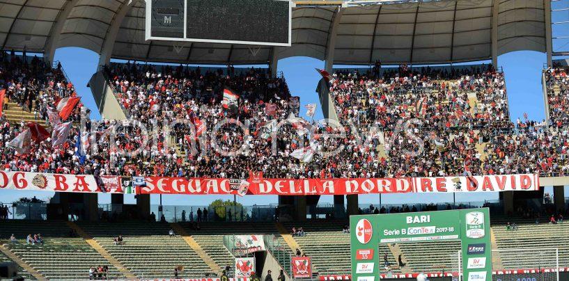 Avellino-Bari senza tifosi ospiti