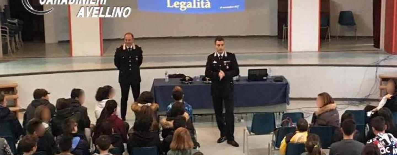 Legalità, i carabinieri di Sant'Angelo incontrano gli studenti
