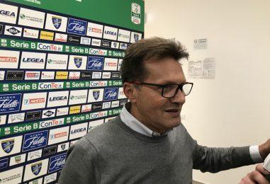 """Frosinone-Avellino 1-1, l'appello di Novellino: """"Adesso ripartiamo tutti insieme"""""""