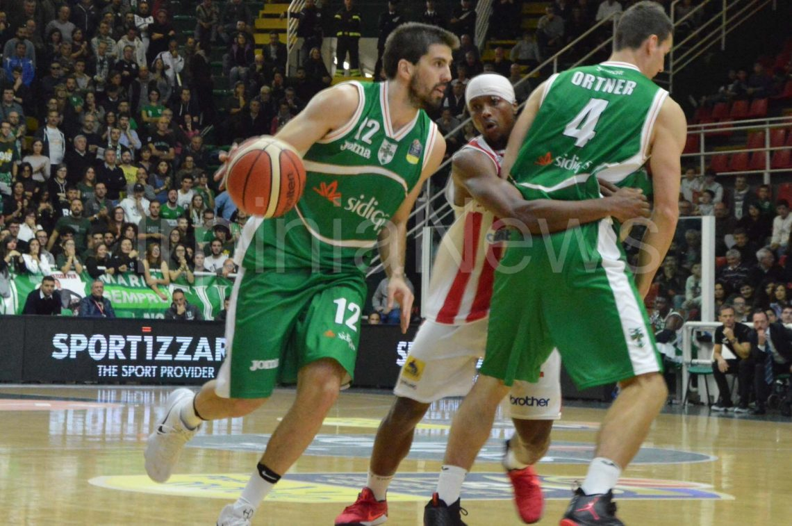 Sidigas-Varese, la fotogallery del lunch match