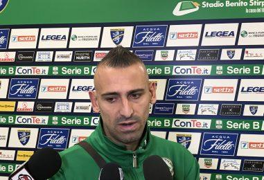 """Frosinone-Avellino 1-1, gioia Castaldo: """"Il gol è per mio padre"""""""