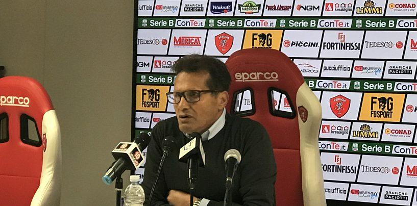"""Perugia-Avellino 1-1, Novellino: """"Stasera sono un bravo ragazzo…"""""""