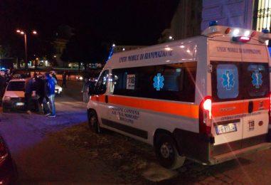 FOTO/ Auto investe un anziano in pieno centro ad Avellino