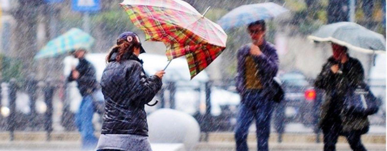 Meteo Avellino, sciabolata artica: vento e piogge con Attila