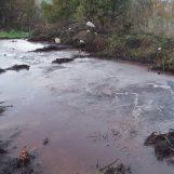 FOTO/ Torre le Nocelle, nuovo caso di inquinamento delle acque