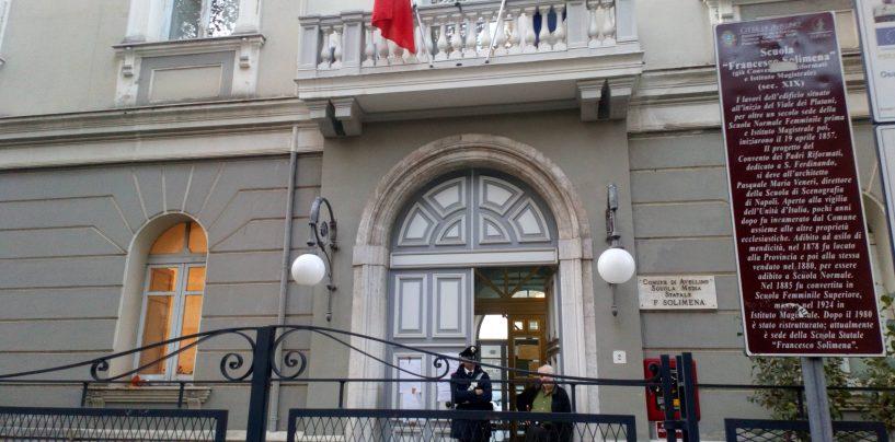 Niente Solimena per gli studenti del Mancini: vie di fuga insufficienti