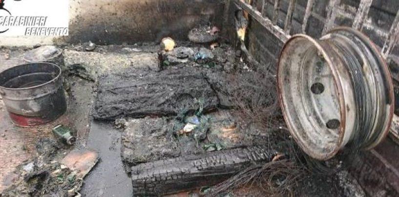 FOTO/ Pretendono 40mila euro di pizzo con attentati incendiari, quattro arresti