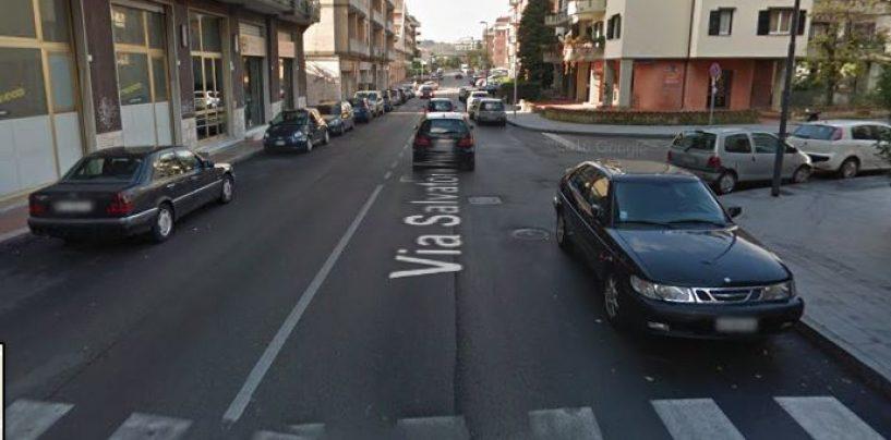 Avellino, uomo investito in città: rischiata la tragedia
