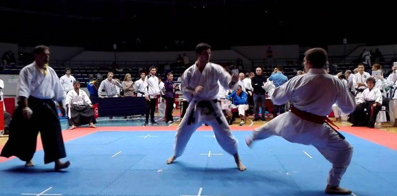 FOTO/ Bronzo per l'Irpino Donadio ai Mondiali di karate Fudokan in Romania