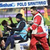 Frosinone-Avellino, Lasik sarà operato d'urgenza