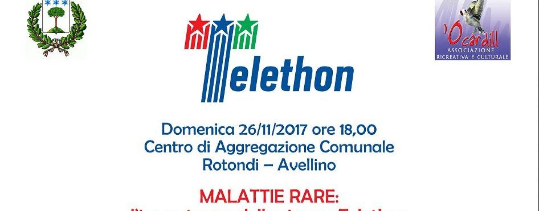 """Fondazione Telethon, a Rotondi il convegno """"Malattie rare"""""""