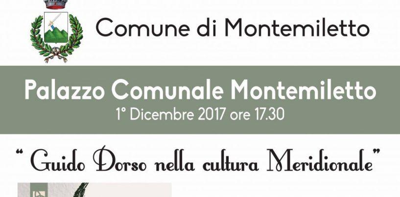 """""""Guido Dorso nella cultura meridionale"""" l'iniziativa a Montemiletto"""