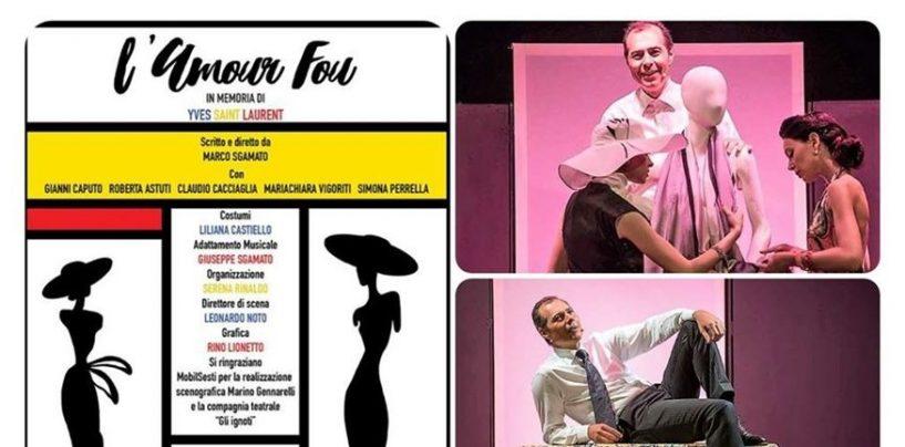 """Secondo appuntamento con il teatro arianese: in scena """"L'Amour Fou"""""""