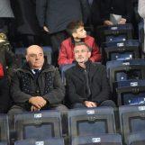 Frosinone-Avellino, i tifosi contestano Taccone e Ferullo