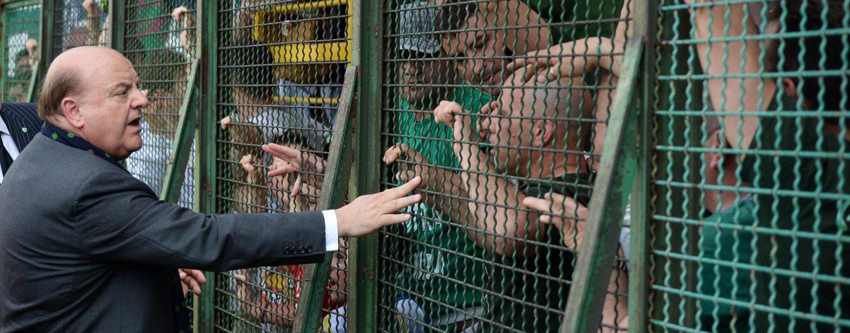 """Taccone, patto con la curva: """"Pace per il bene dell'Avellino"""""""