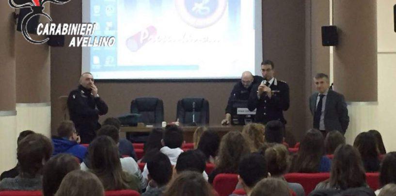 """""""A scuola di legalità"""", i carabinieri incontrano gli studenti del Liceo De Sanctis"""