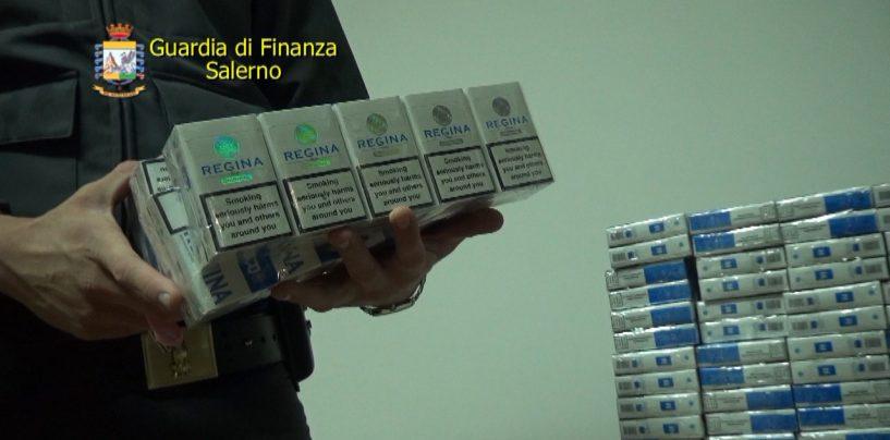 Sequestrate 8,5 tonnellate di sigarette di contrabbando pronte per essere vendute