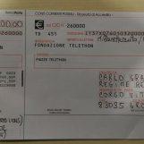 Telethon: 1700 euro raccolti dagli ultras di Grottaminarda