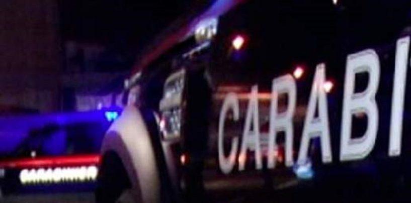 Picchiata e rapita in casa da tre malviventi, la salvano i Carabinieri