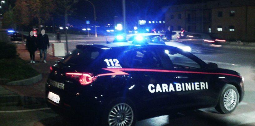 In giro con hashish e marijuana, in quattro sorpresi e segnalati dai Carabinieri