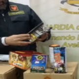 VIDEO/ Fuochi d'artificio legali detenuti illegalmente: maxi sequestro delle Fiamme Gialle