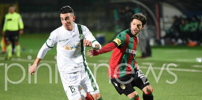"""Avellino-Ternana 2-1, Asencio esulta: """"Risultato mai in discussione"""""""