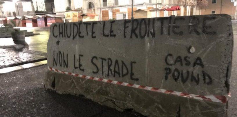 """CasaPound  nel Piazzale della Resistenza, gli antifascisti: """"Assurdo"""""""