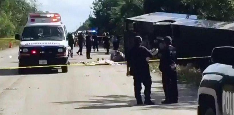 Messico, 12 morti in un incidente: a bordo del bus anche italiani