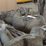 """VIDEO/ L'inviato Speciale – Dogana di Avellino: ecco le statue """"parcheggiate"""""""