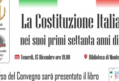 Convegno sulla Costituzione Italiana: appuntamento a Montefalcione