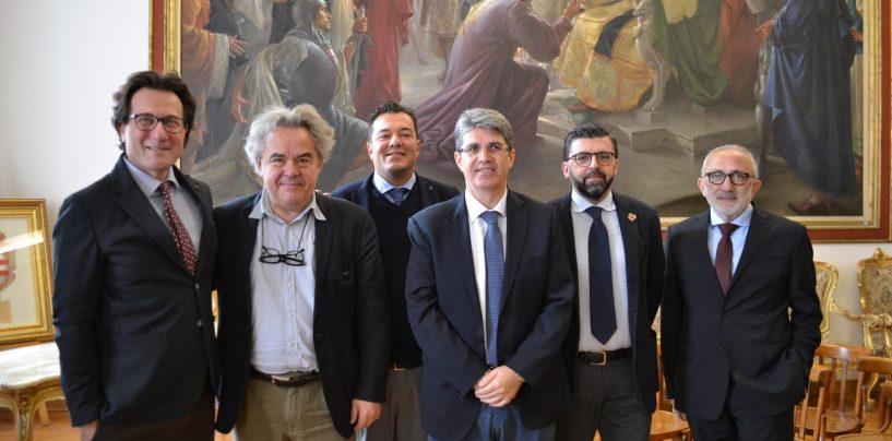 """Le Città Campane della Ceramica incontrano il direttore della Reggia di Caserta. L'assessore Manganiello: """"Anche Ariano nella rete dei Comuni"""""""