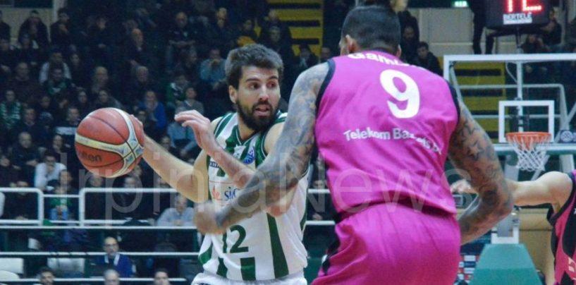 Non basta la sconfitta dello Stelmet, Sidigas fuori dalla Champions