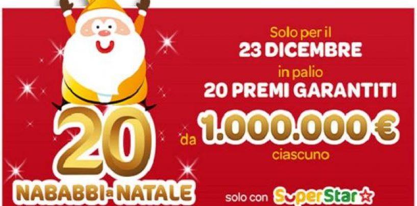 Come vincere 1 milione di euro a Natale con una giocata SuperEnalotto