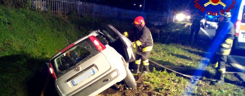Brutto incidente a Pietradefusi, quattro feriti