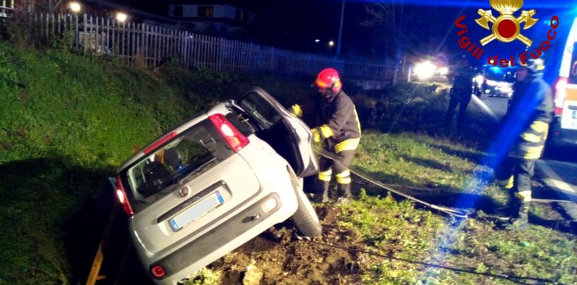 Brutto incidente a Pietradefusi, quattro feriti