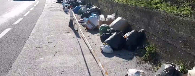 Anas al lavoro: via i rifiuti dalle piazzole di sosta dell'Avellino-Salerno