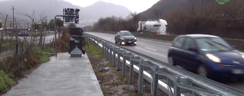 Torna in funzione l'autovelox lungo il Raccordo Avellino-Salerno: automobilisti avvisati
