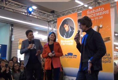 """VIDEO/ Backstage, Roberto Farnesi e Anna Safroncik: """"Vi sveliamo i nostri segreti e quelli delle tre rose di Eva"""""""