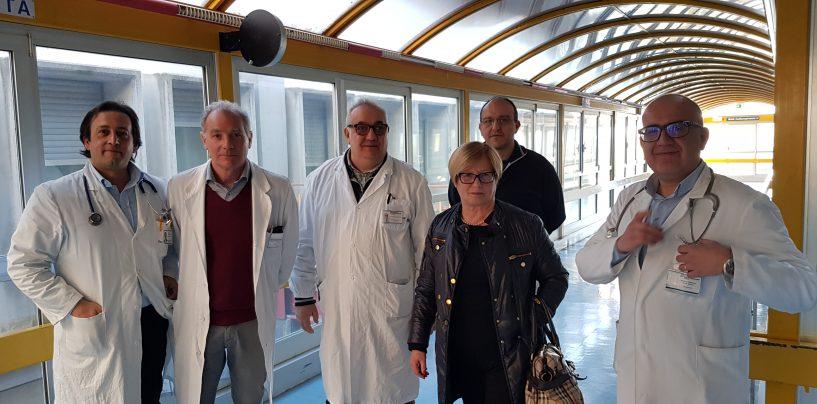 """D'Amelio in visita all'ospedale """"Criscuoli"""" di Sant'Angelo"""