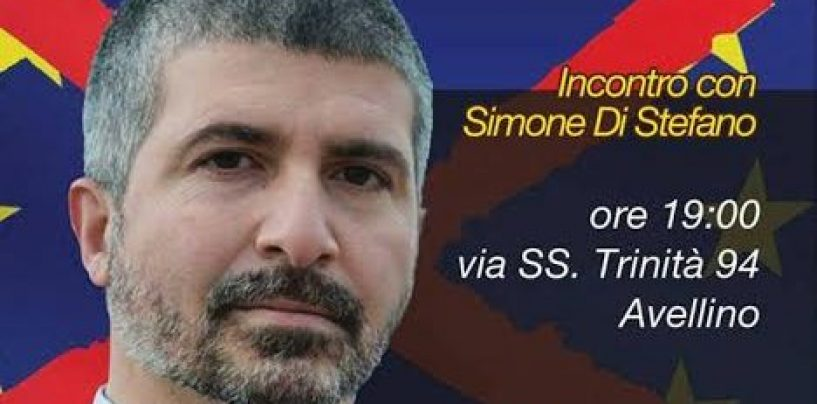 Il segretario nazionale di Casapound ad Avellino